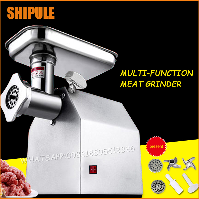 New Household Multifunction Meat Grinder High Quality Stainless Steel Blade Home Cooking Machine Mincer Sausage Machine meat grinder household multifunction meat grinder high quality stainless steel blade home cooking machine mincer sausage machine