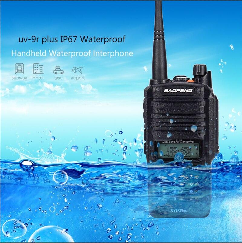 2pc 長距離 15 5w baofeng uv 9r プラス防水トランシーバー 8000 2600mah アマチュア cb ラジオ車ハムラジオステーション vhf uhf ハンディ  グループ上の 携帯電話 & 電気通信 からの トランシーバー の中 1