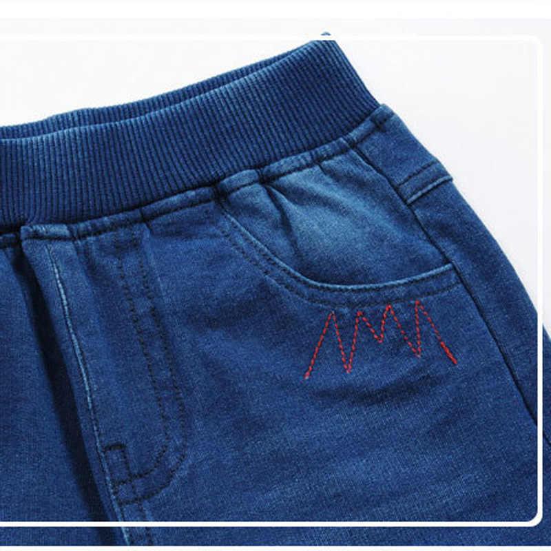 2-13 Years Children's Summer Clothing Boys Jeans Denim Shorts 2017 New Casual Elastic Waist Boy Shorts Denim High Quality DQ278