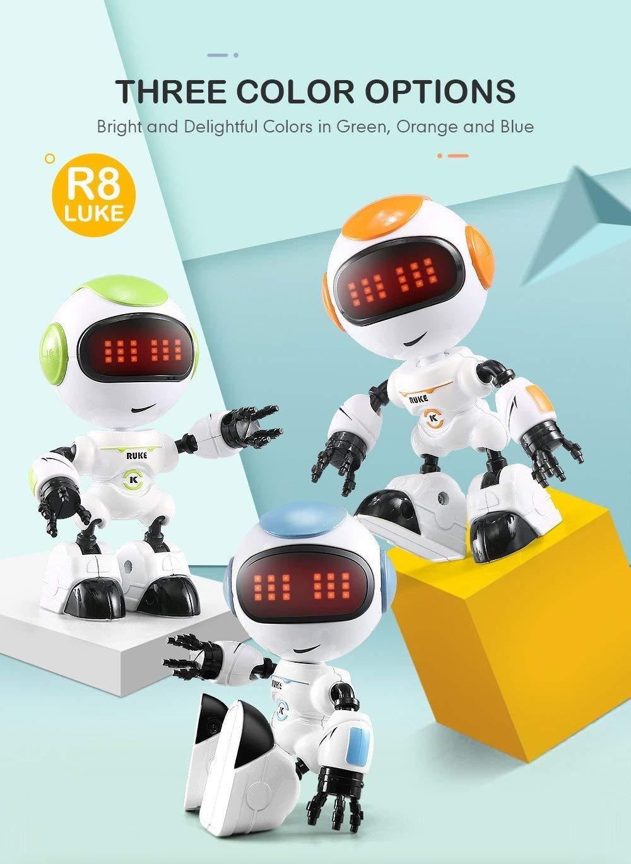JJRC R8 LUKE Intelligent Robot Touch Control DIY Gesture Talk Smart Mini RC Robot Gift Toy 5
