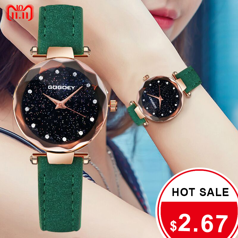 GoGoey Women Watch Stylish Top Brand Fashion Watches Wristwatches Clock Ladies Watches Women relogio feminino reloj mujer 11.11 simple elegant women watches 2018 new hot sell brand gogoey wristwatches fashion ladies leather quartz watch reloj mujer clock page 2