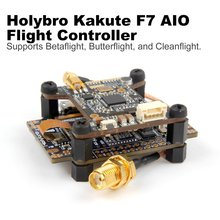 Holybro Kakute F4/F7/F3 AIO Flight Controller Sensor OSD PDB Atlatl HV V2 5.8G FPV Transmitter for RC Racing Drone Betaflight holybro kakute f7 aio tekko32 35a blheli