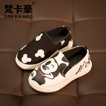 J Ghee Hello Kitty Children Shoes For Girls Baby Canvas Sneakers Mickey Sneakers Kids Shoes For Boys Girls Chaussure Enfant