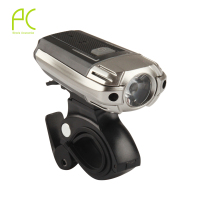 PCycling 300LM USB Rechargeable Bike LED Front Light Aluminum Alloy Power Head Flashing Cycling Bicycle Safety