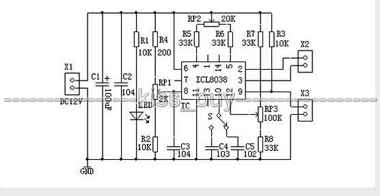 ICL8038 PDF