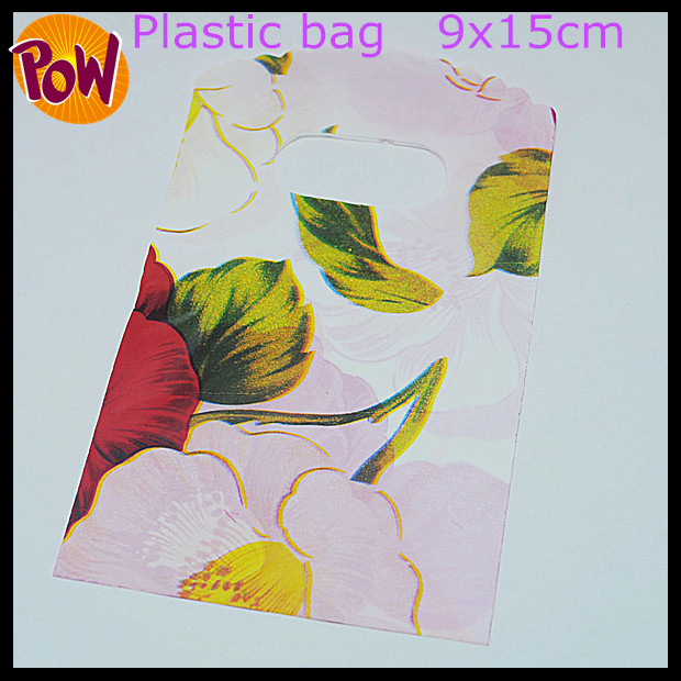 100 pcs new jewelry packing bags top fashion jewelry bags shopping bags candy bags size 9x15cm