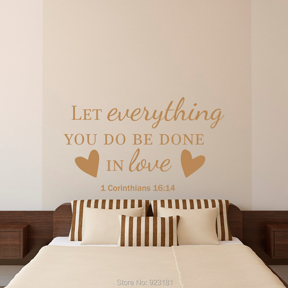 The Lord Is My Shepherd Inspirational Verse Vinyl Wall Decal Art Sticker China