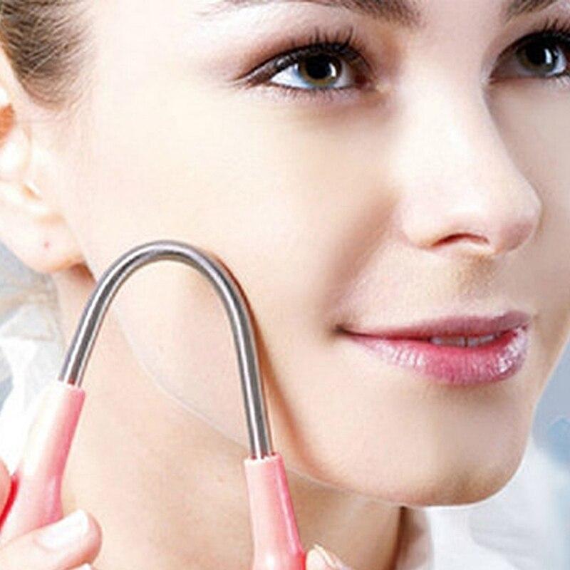 Новый Гигиена мини лица устройство для удаления волос лица Портативный удаление волос Руководство красоты микро весной депиляция бритья дипиляция бритвенные станки