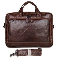 Гарантия натуральная кожа сумка для ноутбука Мужская уникальная сумка Портфели
