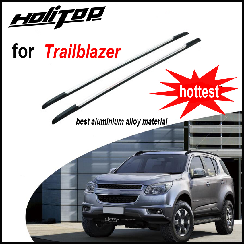 outlet store 36382 bac94 NEW ARRIVAL for Chevrolet Trailblazer 2013 2018 roof rack roof rail luggage  bar, original style, OE design, upgrade your car-in Armrests from  Automobiles ...