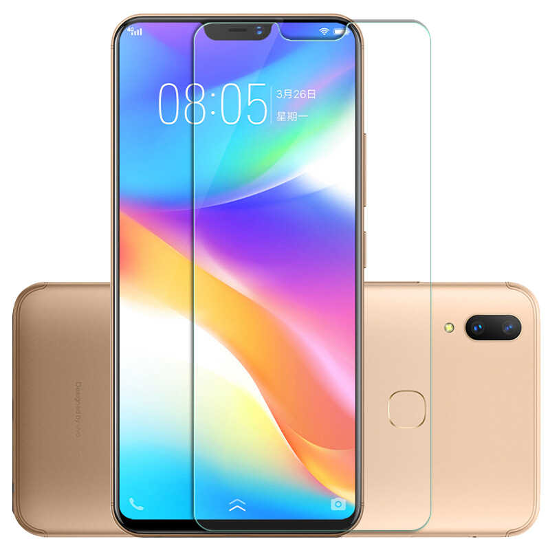 Wangl Mobile Phone Tempered Glass Film 25 PCS AG Matte Frosted Full Cover Tempered Glass for Vivo Y83 Tempered Glass Film