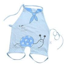 Фартук для новорожденного из хлопка, фартук для ребенка, мягкий дышащий фартук для ребенка, модный фартук с рисунком из мультфильма