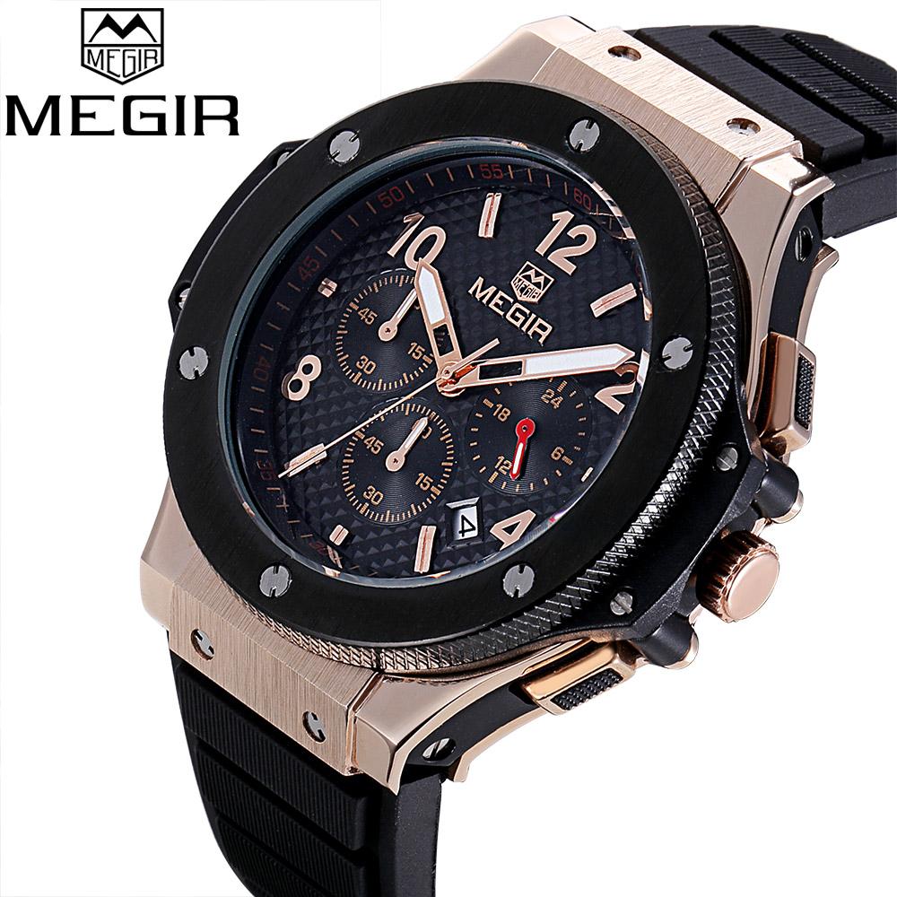 Prix pour Top marque de luxe Sport Montre Homme Quartz chronographe 24 horas fonction horloge hommes armée militaire Montre - bracelet Montre Homme Reloj