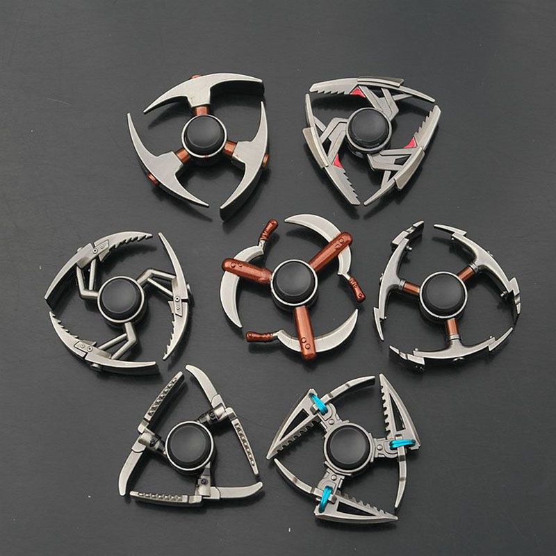 EDC Fidget Spinner Metal Spiner Anti-Anxiety Toy For Hand Spinner Focus Relieves Stress Finger Spinner