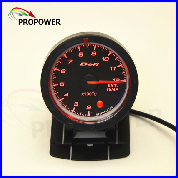 "2.5"" 60MM DF Advance CR Gauge Meter Exhaust Gas Temp Gauge Black Face C Degree With Sensor/AUTO GAUGE"