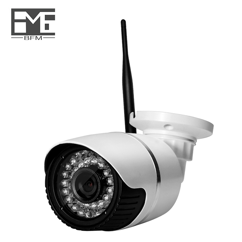 BFMore H.265 5.0MP WIFI caméra IP sécurité extérieure étanche réseau de Surveillance CCTV caméra IR Vision nocturne Onvif 2.1 câblé