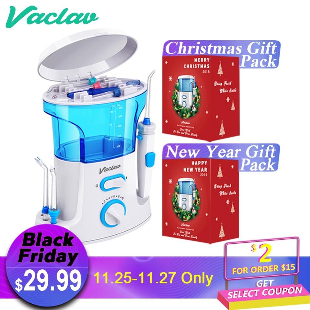 Vaclav Dental Flosser Oral Dental Irrigator Water Flosser Dental Floss Water Floss Tooth Pick Dental Water