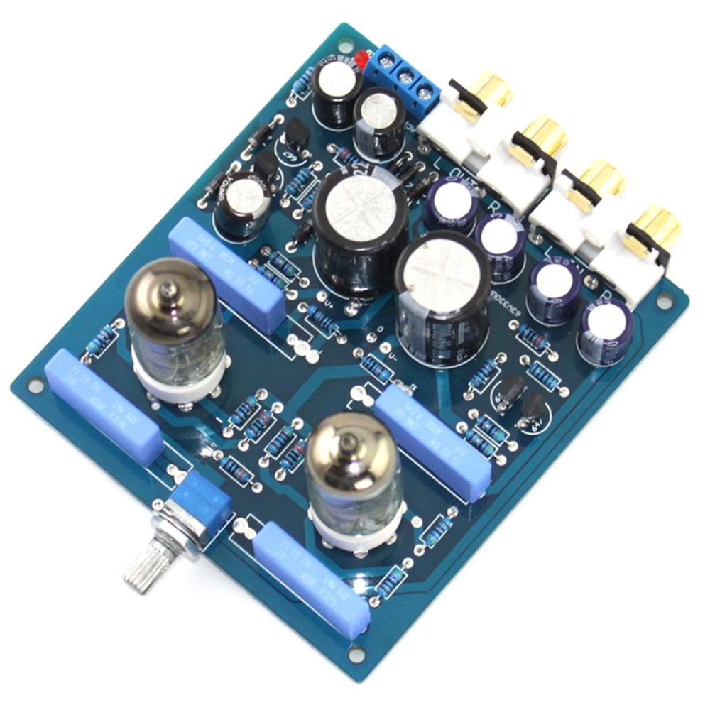 Image 4 - 6J1 2200UF/63V AC12V 0 AC12V 15W DIY Tube PreAmplifier Finished Board YJ0072-in Amplifier from Consumer Electronics