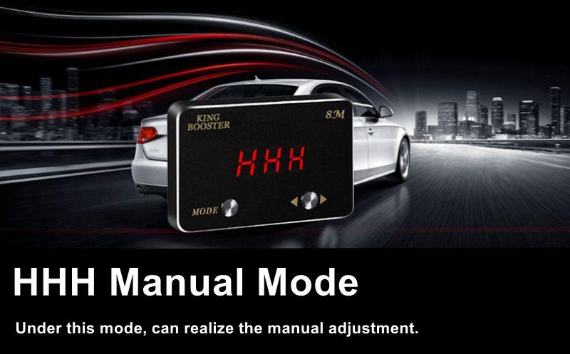 HHH manudal mode throttle controller