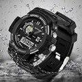 Новое Прибытие SANDA Водонепроницаемый Dual Time Цифровой Спорт Многофункциональный Наручные Часы Наручные Часы для Мужчин Boy 2 Лет Warrenty OP001