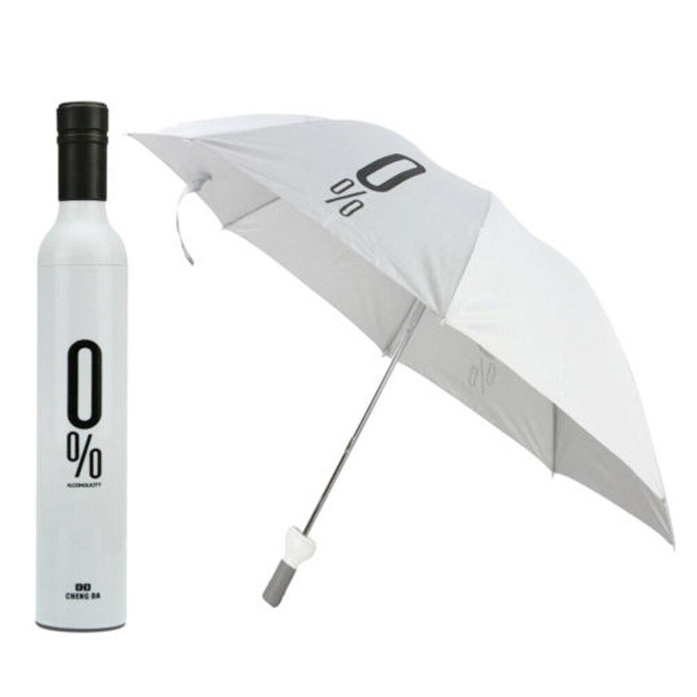 1 шт. открытый зонтик бутылки вина Защита от солнца дождь Зонты складной УФ-зонтик Мода для Для женщин Для мужчин подарки Дождевики и зонты