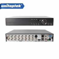 4Ch 8Ch 16Ch 5 IN 1 Hybrid DVR XVR Support AHD CVI TVI CVBS IP Camera