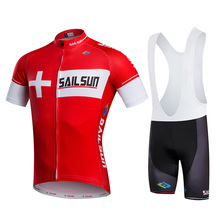 2016sailsun New Team Brand Mountain Bike Cycling Jerseys Summer Sport Cycle Cycling Clothing ropa ciclismo Cycling Jerseys