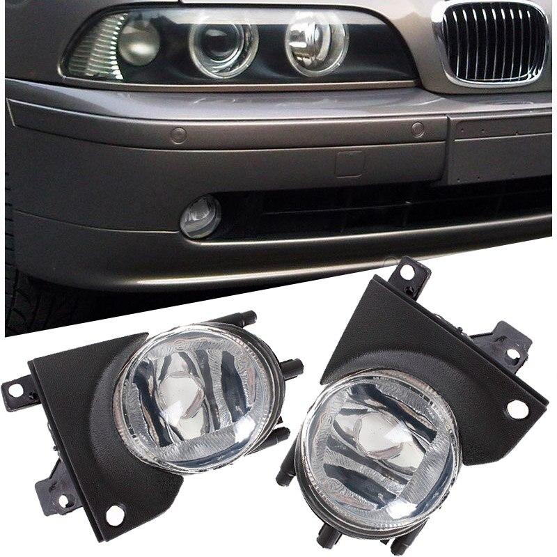 Paire pour 2001-2003 BMW E39 OEM pare-chocs avant remplacement clair feux de brouillard