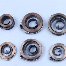 Китай поставщик постоянной силы плоская спиральная пружина используется для часов, 1,5*10*1540*58 мм, тип S26