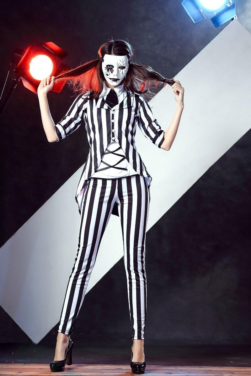 halloween women horror graveyard ghost costume evil horror ghost
