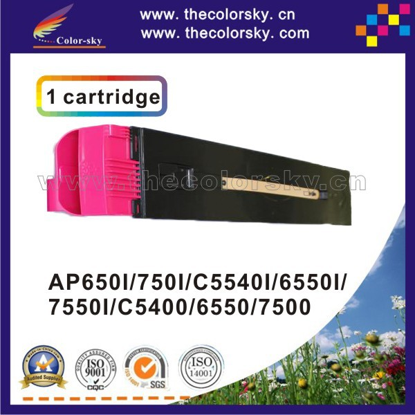(CS-XDCC6550) print top premium toner cartridge for Xerox Docucentre C5400 6500 7500 5400 CT200571 CT200570 kcmy 31.7k/31.7k ct200568 ct200571 toner chip for xerox aposport c5540 c6550 c7550 apeosport ii c5400 c6500 c7500 printer cartridge