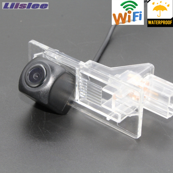 LiisLee wireless Car Rear View Camera For Renault Megane 3 III 2008~2016 Parking Camera CCD Night Vision/License Plate camera