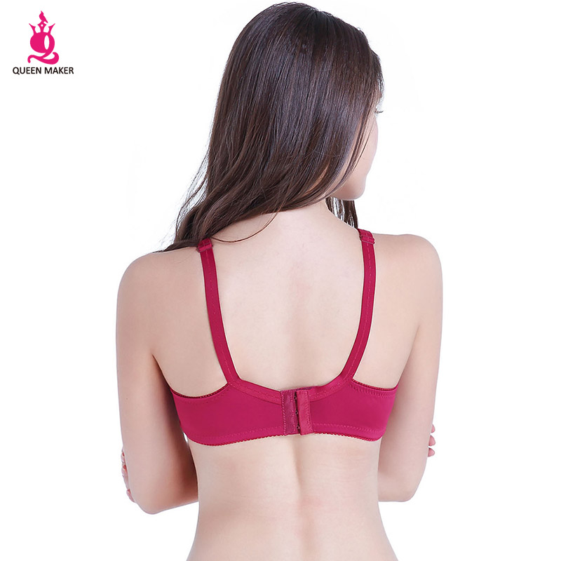 [Queen Maker] 2018 New Spring summer thin Breathable Sexy lace bras for Woman Bras Sexy brassiere Free Shipping WB019
