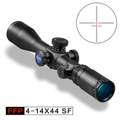 DISCOVERY FFP 4 14X44 SFRLIR Tactical First Focal Plane Riflescope For Outdoor Hunting Scope
