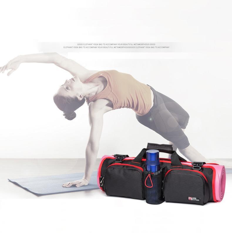 multi-function Gym bag <font><b>Yoga</b></font> package The large capacity portable <font><b>Yoga</b></font> bag One shoulder <font><b>Yoga</b></font> mat bag movement Gym bag female