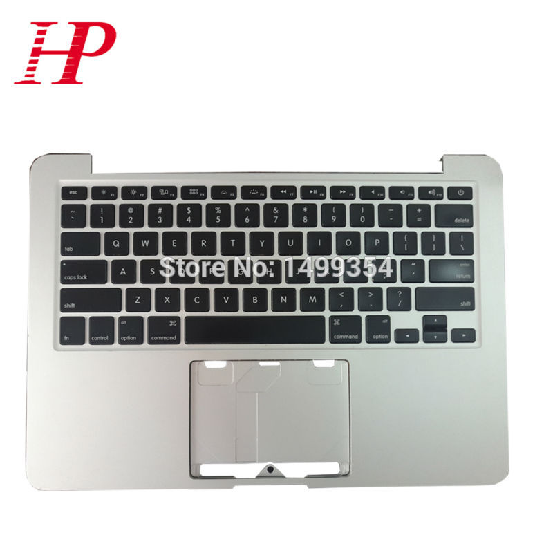 2012 Year MD212 MD213 A1425 Top Case Palmrest With US Keyboard For Apple Macbook Pro 13'' Retina A1425 Topcase Palm Rest po layout palmrest white color topcase for a1181 full keyboard topcase with poland keyboard for apple macbook 13