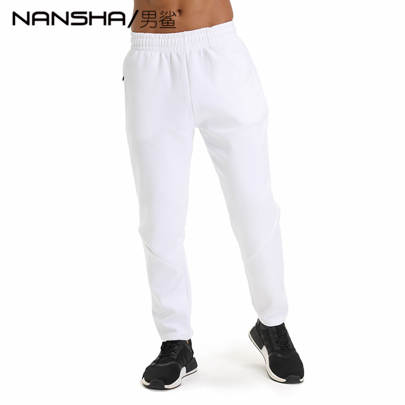 2019  Gyms Pants Men's Gasp Workout Bodybuilding Clothing Casual 100% Cotton Sweatpants Joggers Pants Skinny Trousers