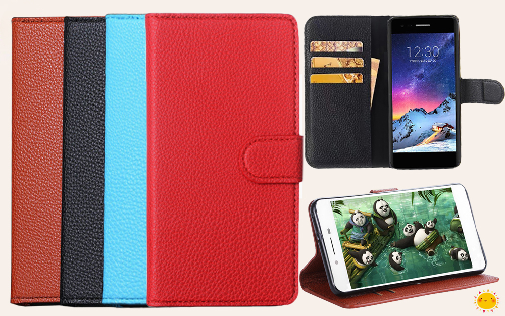 Flip PU Leather <font><b>Case</b></font> <font><b>for</b></font> <font><b>DEXP</b></font> <font><b>Ixion</b></font> <font><b>ML150</b></font> Amper M MS150 Glider <font><b>Ixion</b></font> ML2 5