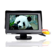 Mini HD Car Monitor Foldable Color Car Reverse Rearview Parking System 4 3 Inch LCD Monitor