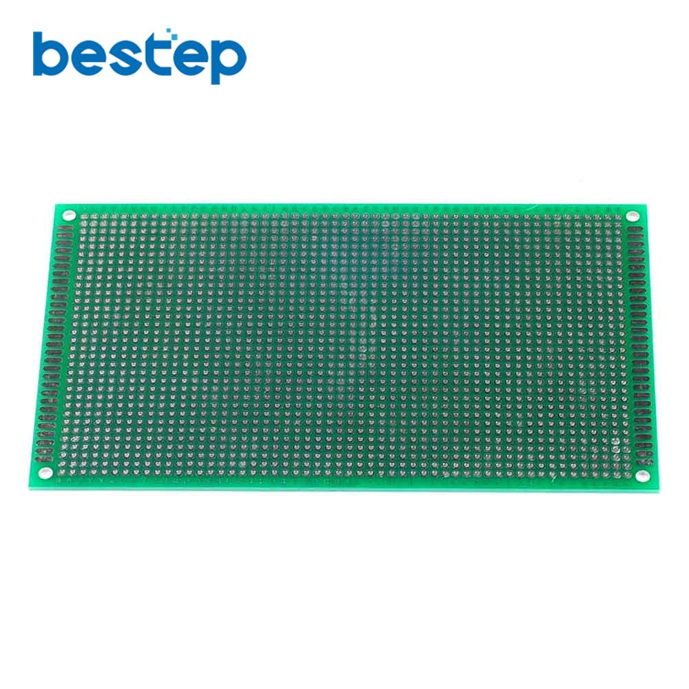 10PCS 9*15cm Double Side Prototype PCB Tinned Universal Breadboard 9x15cm Top Sale ...
