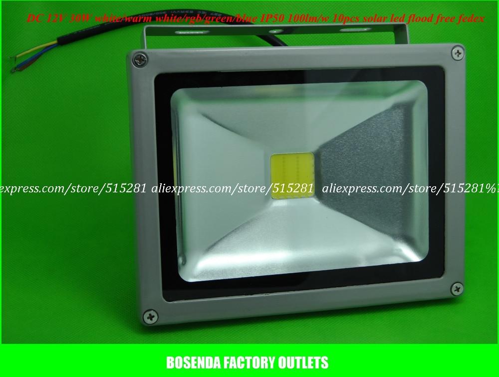 8pcs/pack  50W Led Flood Light Outdoor Lamp P65 DC12V (input) Warm White /White /Red/Green/Blue comix durable 50 page 12 stapler w staples blue 3 pcs