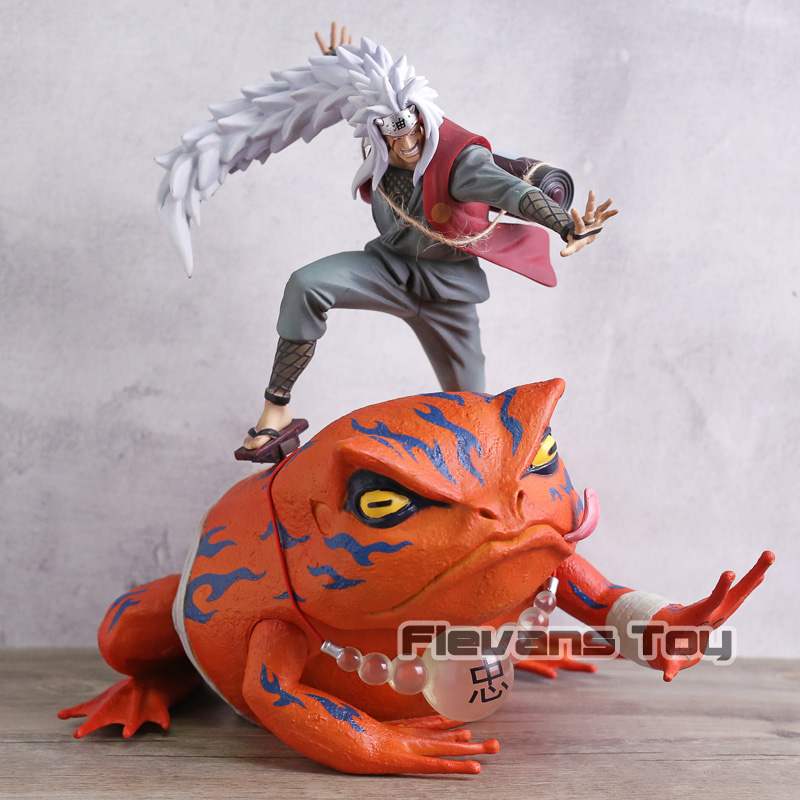 Image 2 - Naruto Shippuden Jiraiya Gama Sennin Gama Bunta GK Statue Figure Toy Brinquedos Figurals Collection Model Gift-in Action & Toy Figures from Toys & Hobbies