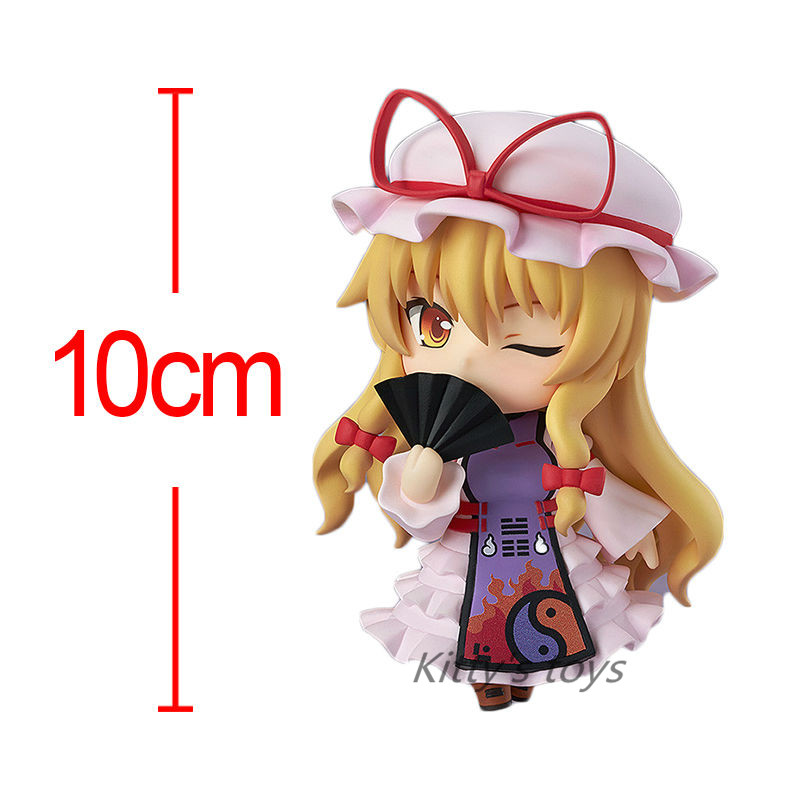 "Japanese Anime Figures Nendoroid #442 Touhou Project Yakumo Yukari PVC Action Figure Doll Collctible Model Toy 4""10cm Brinquedos 1"