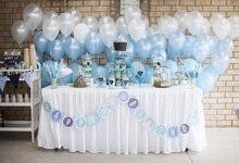 Laeacco Photography Backdrops Balloon Happy Baby Birthday Party Celebration Cake Table Dessert Background Photocall Photo Studio