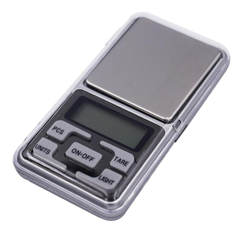 10 pcs 0.01g 500g Mini Eletrônica Digital