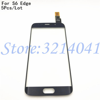 5Pcs/Lot Touch Screen Digitizer For Samsung Galaxy S6 Edge G9250 G925 G925F Touch Sensor Glass Panel Replacement