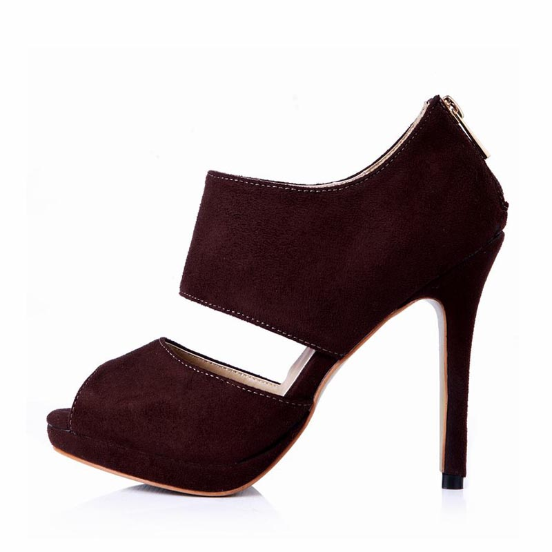 ФОТО Big Size 43 Sexy High Heels Women Shoes Woman Pumps Platform Zapatos Mujer Tacon Tenis Sapato Feminino Peep Toe Party Club Shoes