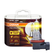 OSRAM H16 12V 19W 2600K 62219FBR Fog Breaker Series Xenon Super Yellow Fog Lamps car headlight bulb