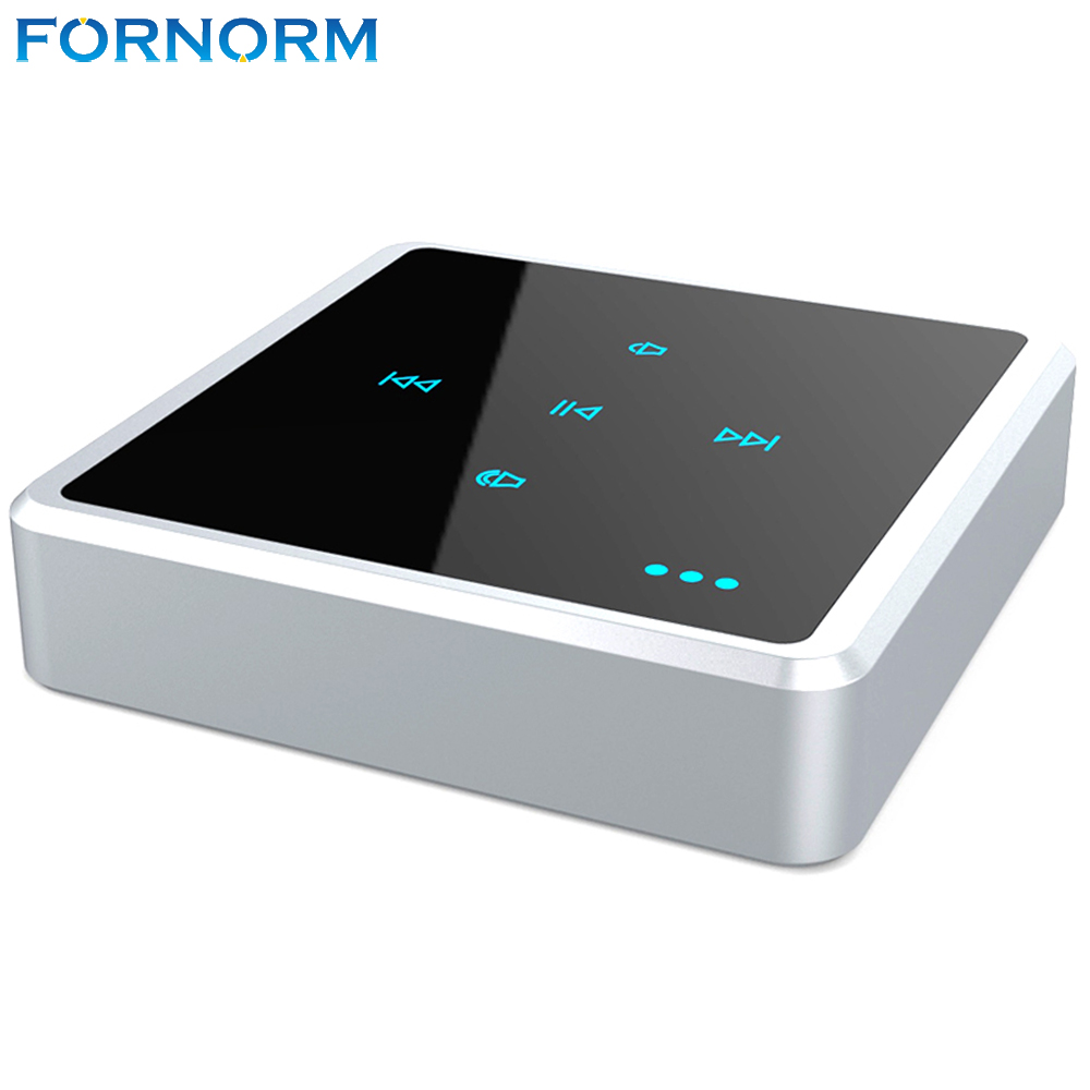 fornorm 2 in 1 wireless touch key design bluetooth audio receiver transmitter bluetooth. Black Bedroom Furniture Sets. Home Design Ideas