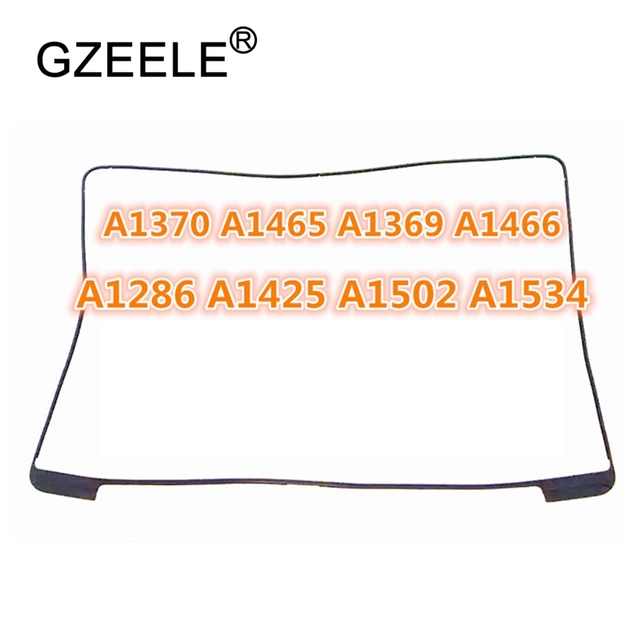 GZEELE New LCD Screen Rubber Frame Ring For Macbook Pro A1370 A1465 A1369 A1466 A1286 A1502 A1425 A1534 A1398 Middle Frame bezel